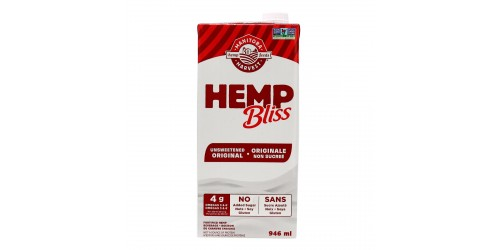 Hemp Bliss Non Sucré 946 ml