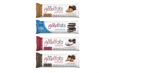 BARRE Love Good Fats saveur de beurre d'arachide chocolaté